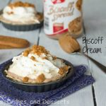 Biscoff Mousse Cream Pie