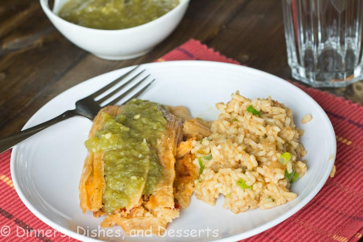 tamales with green chili sauce
