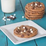 Hot Chocolate Cookies square