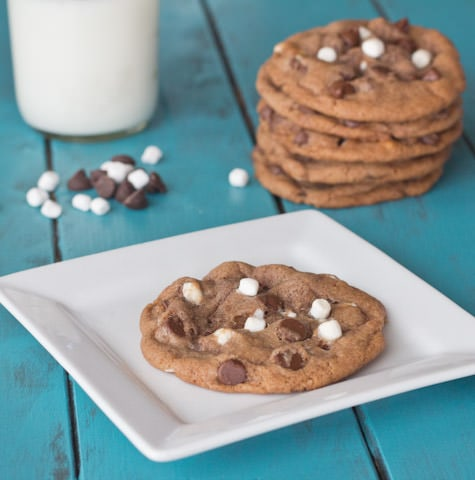 Hot Chocolate Cookies - Enjoy a cozy winter favorite in more than just a glass!!