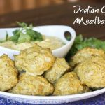 Indian Curry Meatballs & Giveaway