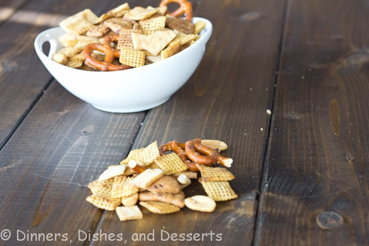 mexican snack mix on a table