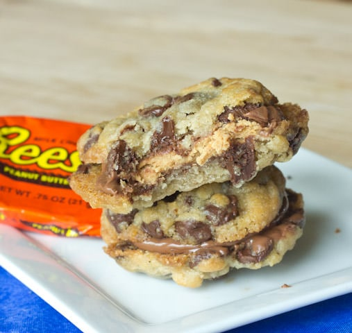 Reese's Peanut Butter Cup Sandwich Cookies