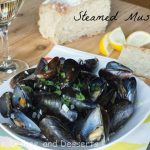 Steamed Mussles and a Foodie Day