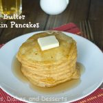 Brown Butter Pumpkin Pancakes