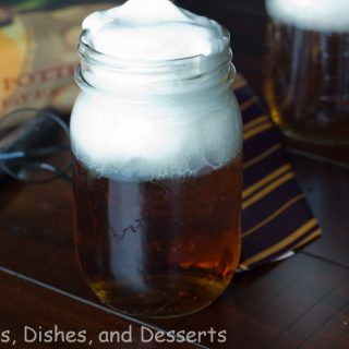 butterbeer in a cup