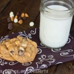 Butterscotch Pudding Triple Chip Cookies #SundaySupper
