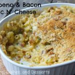Jalapeno & Bacon Mac n' Cheese #SundaySupper