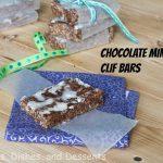 Chocolate Mint Cliff Bars