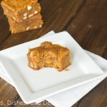 Pumpkin Biscoff Blondies 3