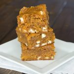 Pumpkin Biscoff Blodies {Dinners, Dishes, and Desserts}