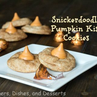 Snickerdoodle Pumpkin Kiss Cookies