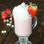 Strawberry Hot Chocolate 3 square