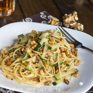Toasted Walnut Pasta for Breast Cancer