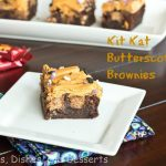 Kit Kat Butterscotch Brownies