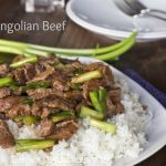 Mongolian Beef labeled