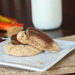 Peanut Butter Cup Blossom Cookies #25recipestoXmas