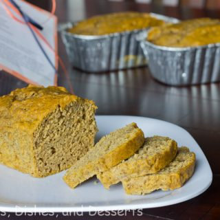 Pumpkin Biscoff Bread #SundaySupper