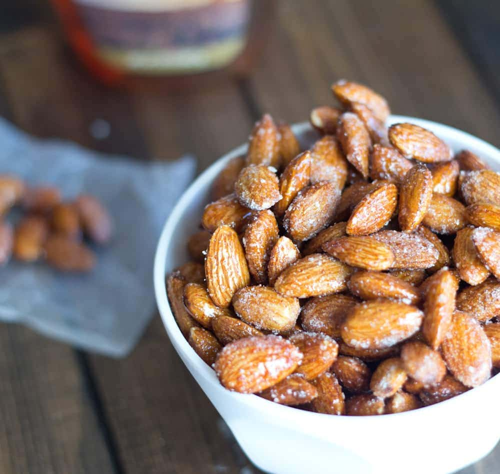 Spicy Honey Roasted Almonds Almond