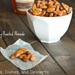 Spicy Honey Roasted Almonds labeled