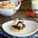 Cookie Dough Mini Donuts & Giveaway