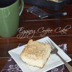 Eggnog Coffee Cake | @dinnersdishesdessert