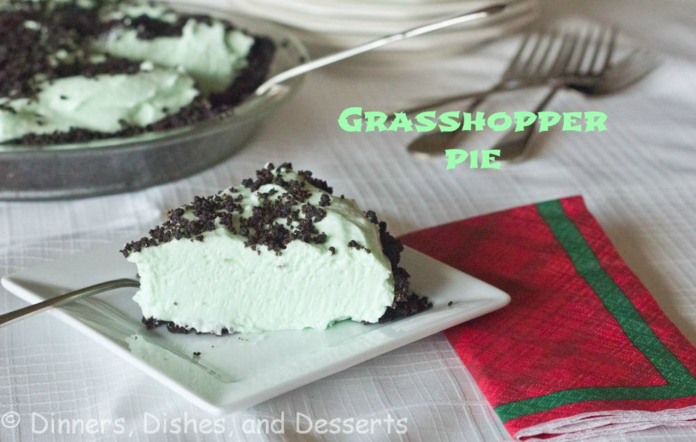 Grasshopper Pie {Dinners Dishes and Desserts}