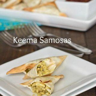 Keema Samosas