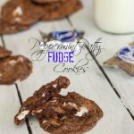Peppermint Patty Fudge Cookies 4 labeled