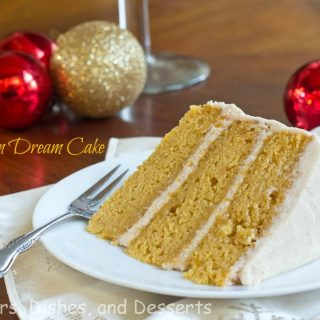 Pumpkin Dream Cake #ChristmasWeek