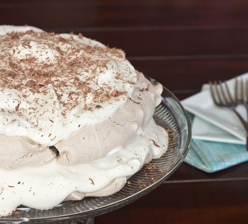 Chocolate Meringue Cake