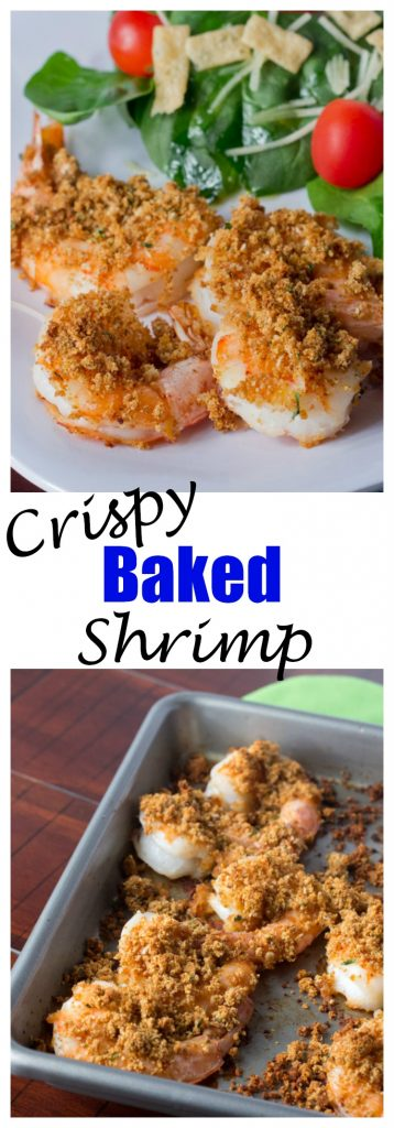 Crispy Baked Shrimp Get All The Crispiness Of Fried Shrimp In A Quick And Easy