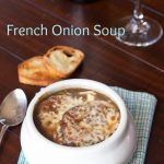 French Onion Soup | @dinnersdishesdessert