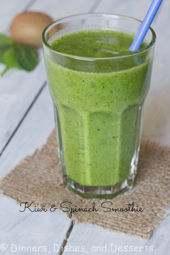 Kiwi Spinach Smoothie