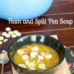 Ham and Split Pea Soup | @dinnersdishesdessert