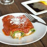 Cannalloni with Spinach Pasta
