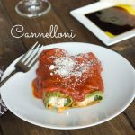 Cannelloni with Spinach Pasta