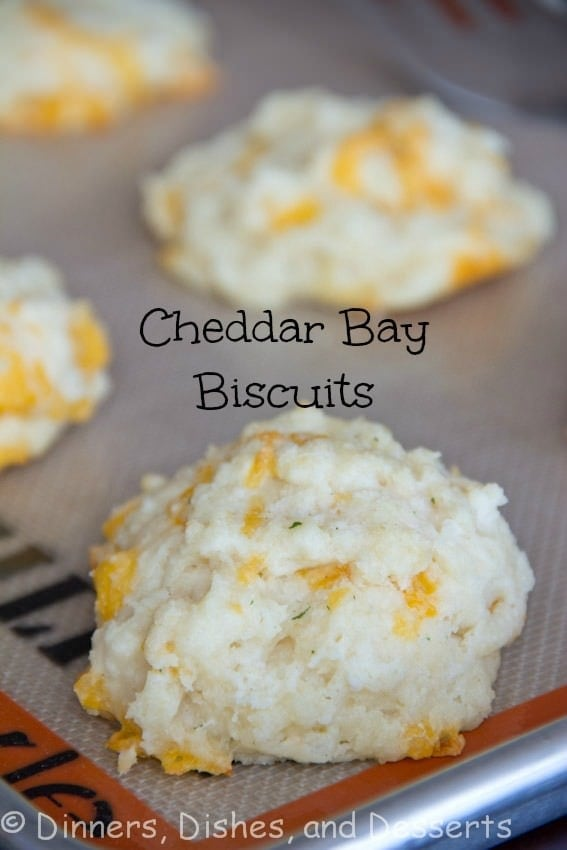 Cheddar Bay Biscuits - a quick and easy homemade Cheddar Bay Biscuit recipe, just like at Red Lobster