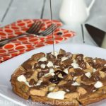 Loaded Chocolate Cookie Pizza