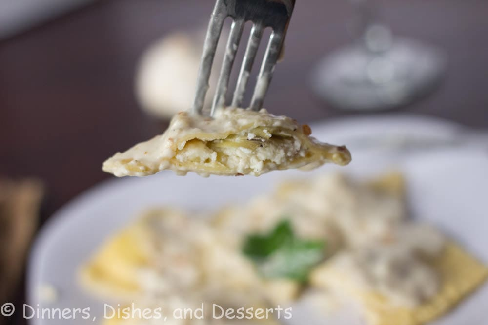 Chicken & Artichoke Ravioli | Dinners, Dishes, and Desserts | Dinners, Dishes, and Desserts