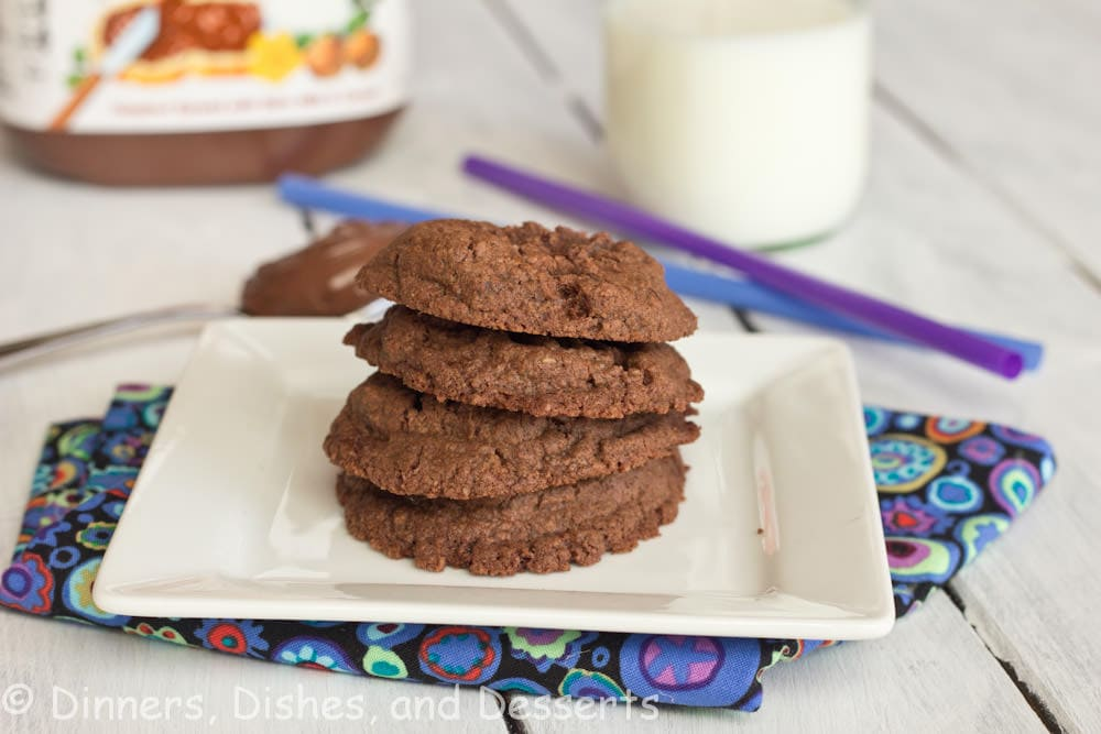 Nutella Cookies | Dinners, Dishes, and Desserts | Dinners, Dishes, and Desserts