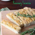 Rosemary Focaccia