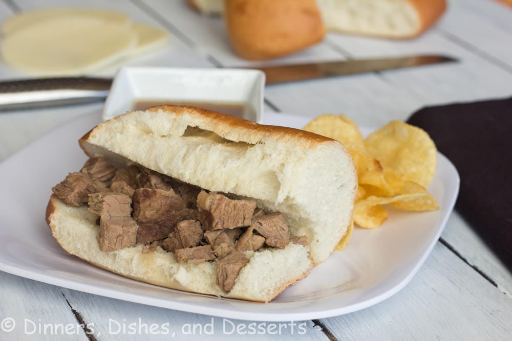 Slow Cooker French Dip Sandwiches | Dinners, Dishes, and Desserts | Dinners, Dishes, and Desserts