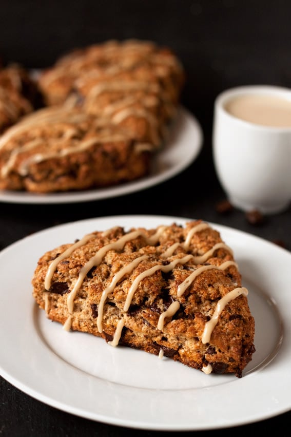Espresso Chocolate Chip Scones | Dinners, Dishes, and Desserts
