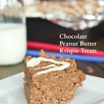 Chocolate and Peanut Butter Krispie Treats