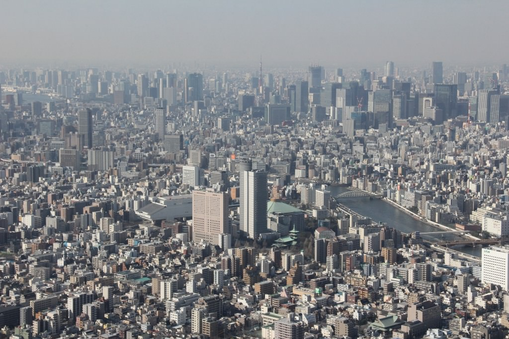 A view of Tokyo Skytree