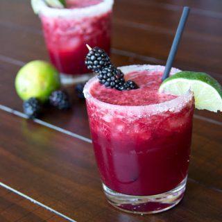 Skinny Blackberry Margaritas