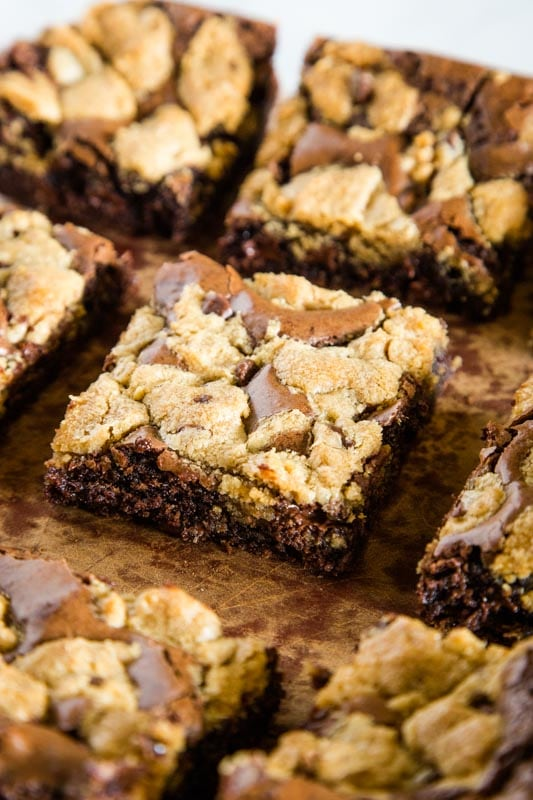Brownie Chocolate Chip Cookies Bars are a must make for any dessert lover