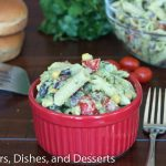 Creamy Avocado Pasta Salad | Dinners, Dishes, and Desserts