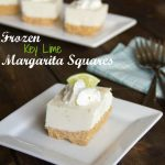 Frozen Key Lime Margarita Squares